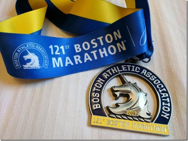 Boston Marathon race results 55