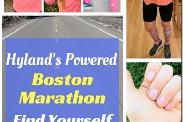 Boston Marathon with Hyland's Find Yourself Find Your Finish Line Recap