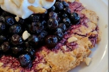 Blueberry Pie Oat Cookie - Easy No Bake Overnight Recipe