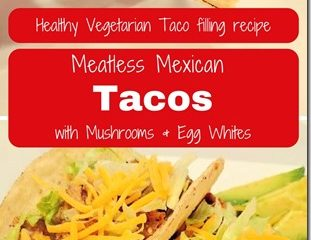 Spiced Mushroom and Egg White Tacos Recipe