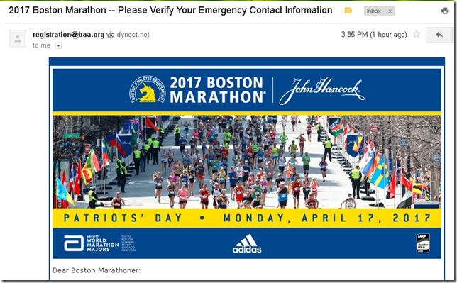 boston marathon email