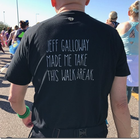 jeff galloway t shirt