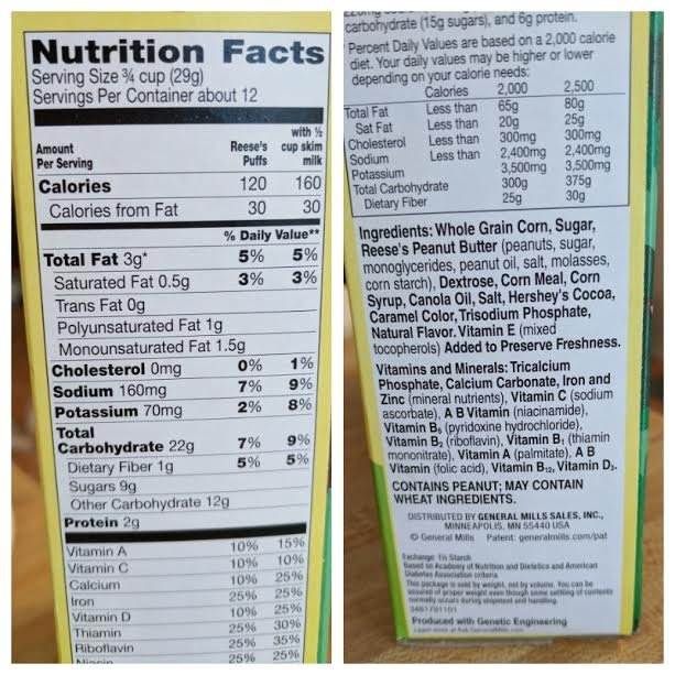 Thin Mints Cereal vs. Reese's Puffs