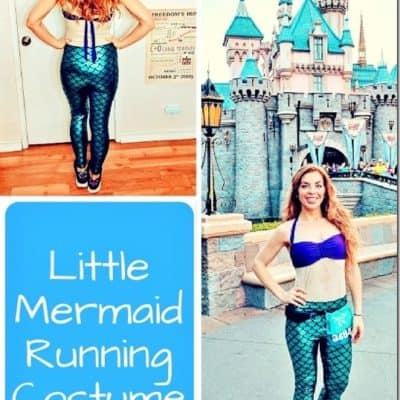 Little Mermaid Running Costume Details