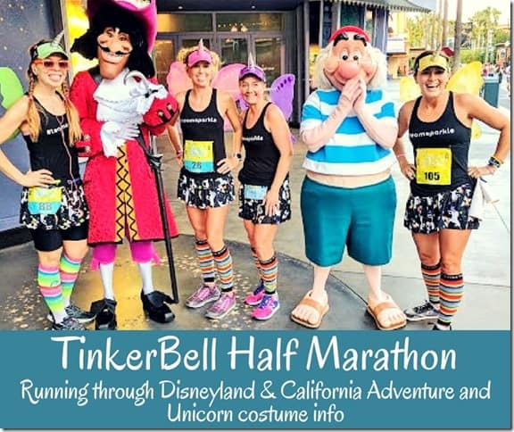 Tinkerbell Half Marathon recap course description (800x671)