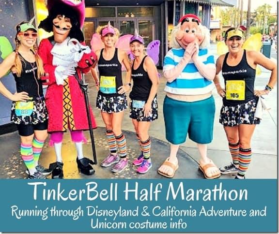 Tinkerbell Half Marathon recap course description (800x671)