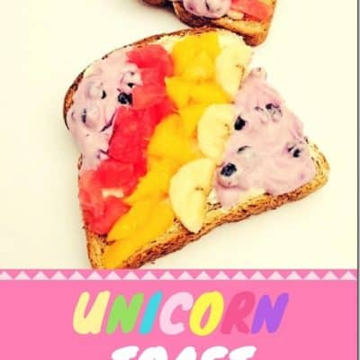 Easy Unicorn Toast