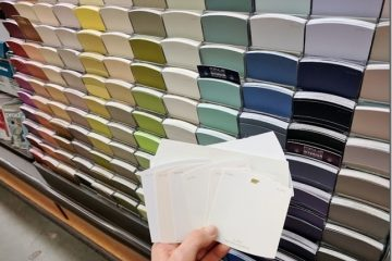 How I Pick Paint Color