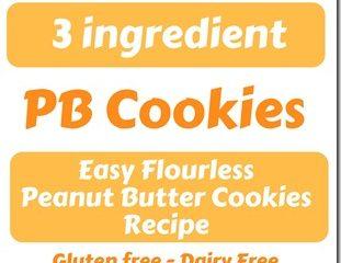 Easy Peanut Butter Cookies Recipe