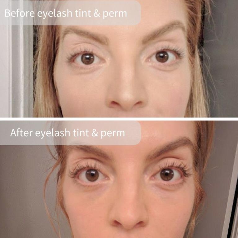 Eyelash Lift Tint Vs Eyelash Extensions Run Eat Repeat