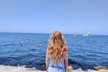 Catalina Island Tips and BLUE Mint n Chip Ice Cream