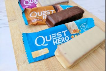 Quest Hero Protein Bar Review and Comparison