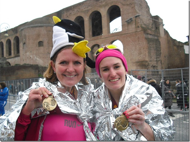 Chapter 3 Introduction Lisa (left) and friend at the Rome Marathon