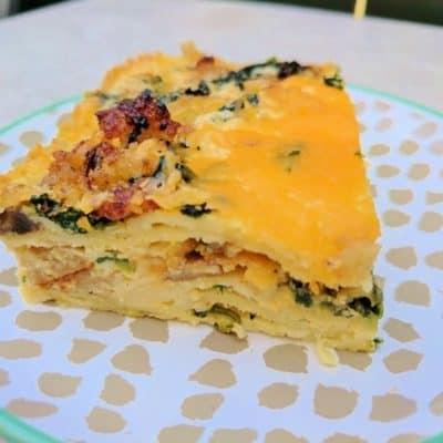 Tortilla Breakfast Casserole Recipe