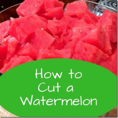 How to Cut a Watermelon Easy and Fast