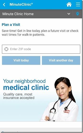 minute clinic cvs