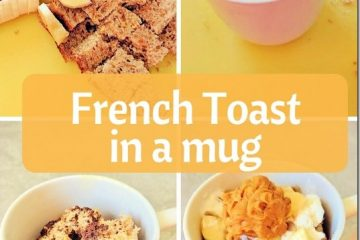 Healthy French Toast in a Mug