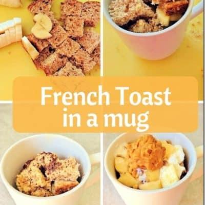 Healthy French Toast in a Mug