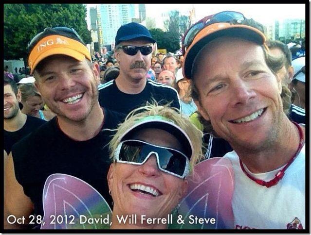 will ferrell los angeles half marathon