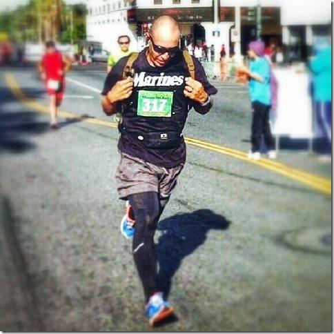 Marine Marathon Runner Juan Hernadez 10
