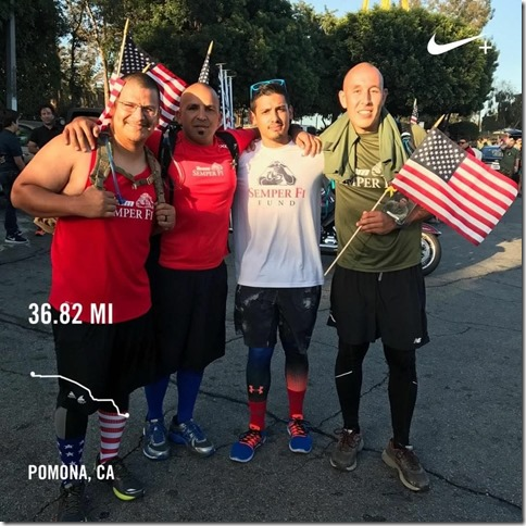 Marine Marathon Runner Juan Hernadez 6