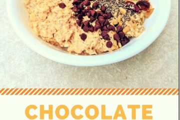 Chocolate Overnight Oats and Chocolate Yogurt