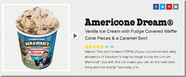 americone dream ice cream