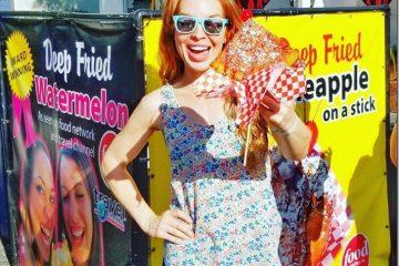 Deep Fried Watermelon at the LA County Fair