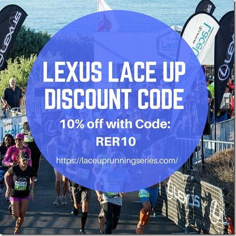 Lexus Lace Up discount code