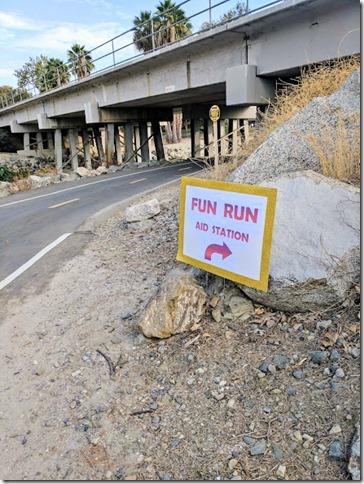 fun run sign