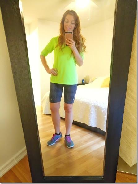 run selfie