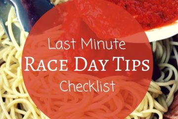Podcast– Last Minute Race Day Tips
