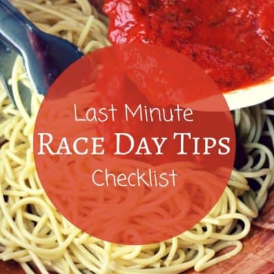 Last Minute Race Day Tips – Podcast 21