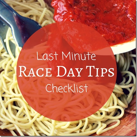 Last Minute Race Day tips podcast (800x800)