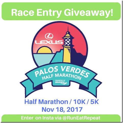 Palos Verdes race giveaway