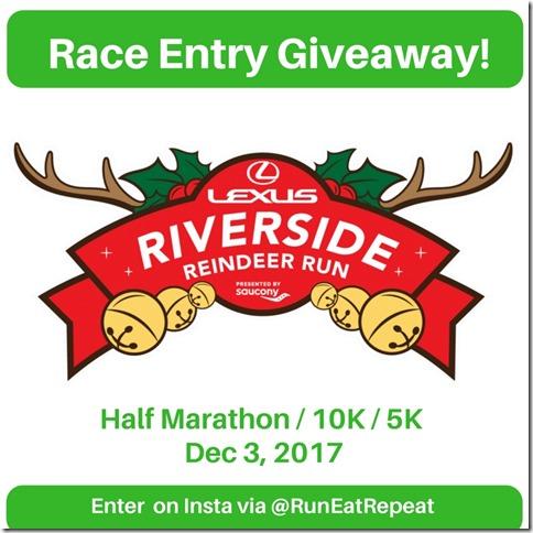 Riverside race giveaway