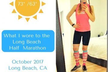 What I Wore Wednesday to the Long Beach Half Marathon