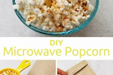 DIY Microwave Popcorn in a Paper Bag