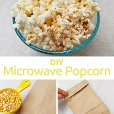 DIY Microwave Popcorn in a Paper Bag