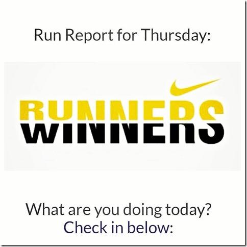 run report thur 10 12 17