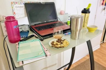 Three Things Thursday–Drinks on My Desk