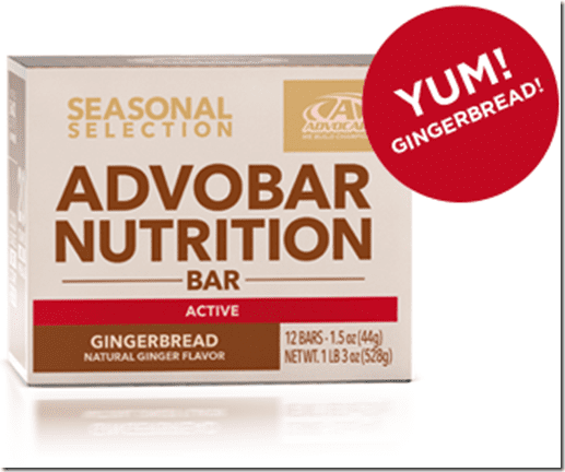 advocare gingerbread bar