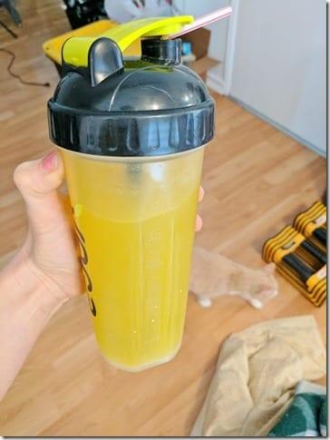 rehydrate running drink