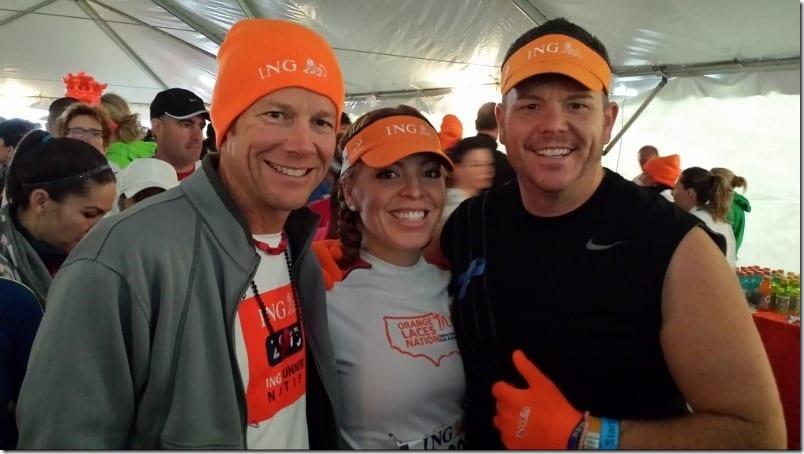 new york city marathon start tent