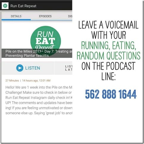 run podcast phone number