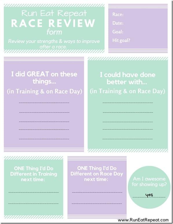 race review form after 5k 10k half marathon (1)