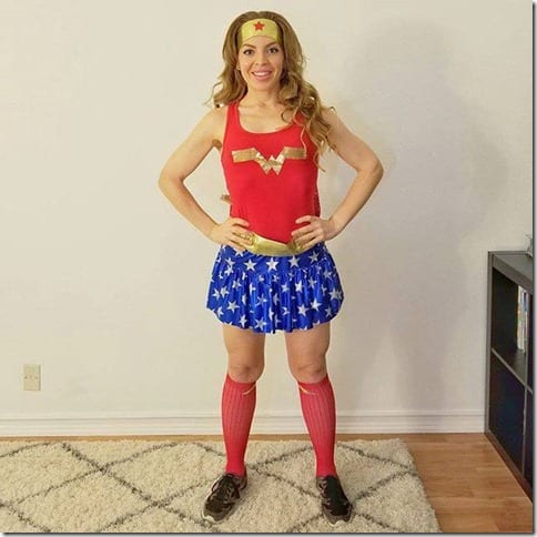 wonder woman running costume 1