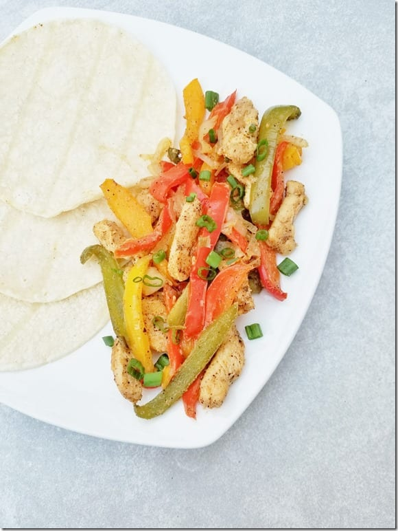 chicken fajitas sheet pan recipe