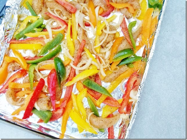 easy sheet pan chicken fajitas recipe 1