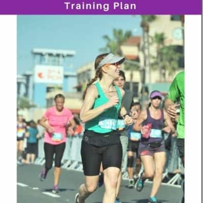 First Half Marathon Training Plan Starts Next Week!